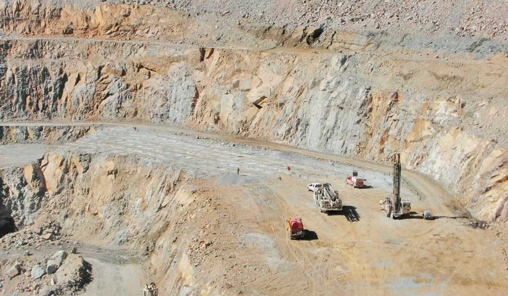 The Minto copper-gold-silver mine in the Yukon, 240 km north of Whitehorse. Credit: Capstone Mining.