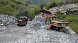 Hauling out rock from the mine portal at the Guaico deposit at Antioquia Gold's Cisneros gold project in Colombia's Antioquia Department. Photo by John Cumming.