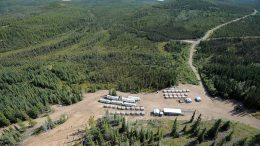 Copper North Mining's Carmacks copper project in the Yukon. Credit: Copper North Mining.