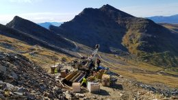 Drilling at Trilogy Metals Inc.'s copper-rich Arctic polymetallic deposit in Alaska's Ambler Mining District. Photo Credit: Trilogy Metals Inc.