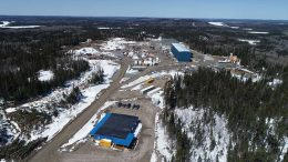 Harte Gold's Sugar Zone gold project in northern Ontario. Credit: Harte Gold.