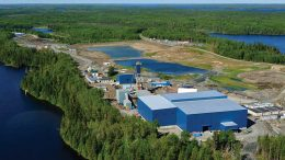 Surface facilities at Rubicon Minerals' Phoenix gold project in Ontario. Credit: Rubicon Minerals.