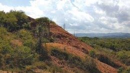 The remains of a structure on Millbrook Minerals' past-producing Los Pasos polymetallic project in Cuba. Credit: Millbrook Minerals.