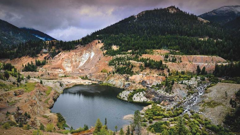 Midas Gold's Stibnite gold property in Idaho. Credit: Midas Gold.