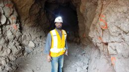 Taj Singh, Discovery Metals' president and CEO, at Puerto Rico. Credit: Discovery Metals.