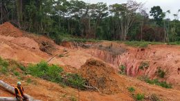Guyana Goldstrike's exploration program is being funded by a $3.2 million investment from the Zijin Mining Group. Credit: Guayana Goldstrike.