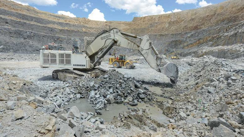 Machines in the Bisha mine. Credit: Nevsun Resources.