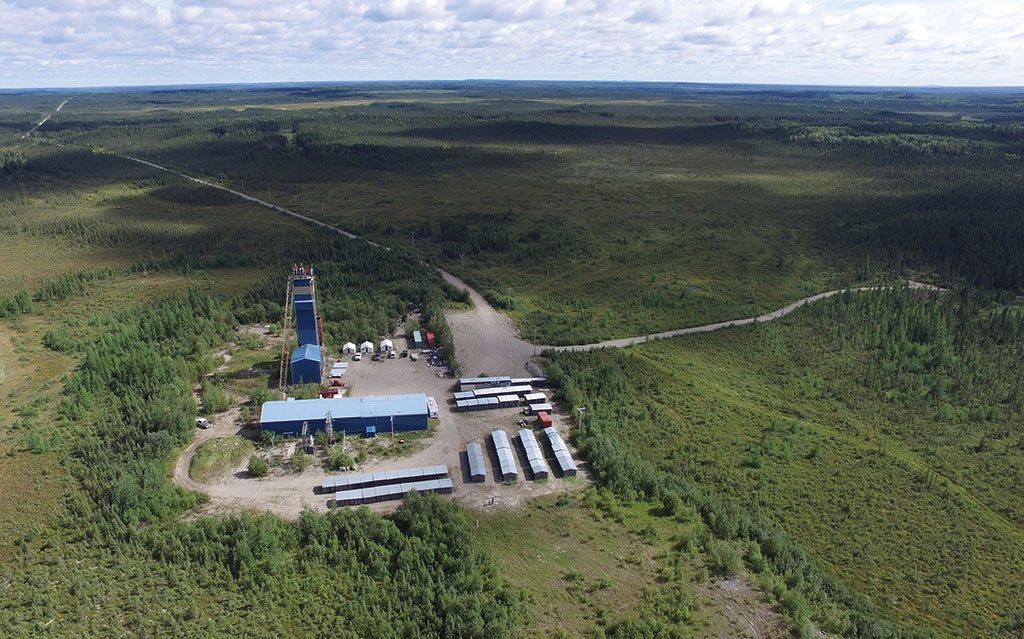 Maple Gold Mines' Douay gold project in Quebec. Credit: Maple Gold Mines.