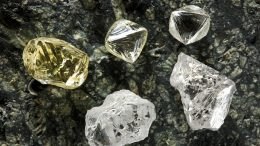 High value diamonds from Star Diamond's Star-Orion project in Saskatchewan.