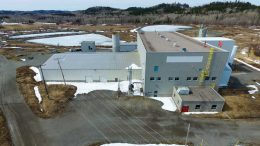 First Cobalt's permitted cobalt refinery in northern Ontario, where the company envisions processing ore from the Iron Creek project in Idaho. Credit: First Cobalt.