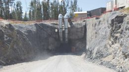 A portal at Harte Gold's Sugar Zone gold project in Ontario. Appian Capital is an investor in the company. Credit: Harte Gold.