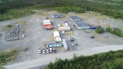 The camp at Nickel Creek Platinum's Nickel Shaw polymetallic project in the Yukon. Credit: Nickel Creek Platinum.