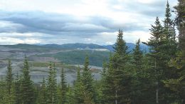 Imperial Metals' Red Chris copper-gold mine in northern British Columbia. Credit: Imperial Metals.