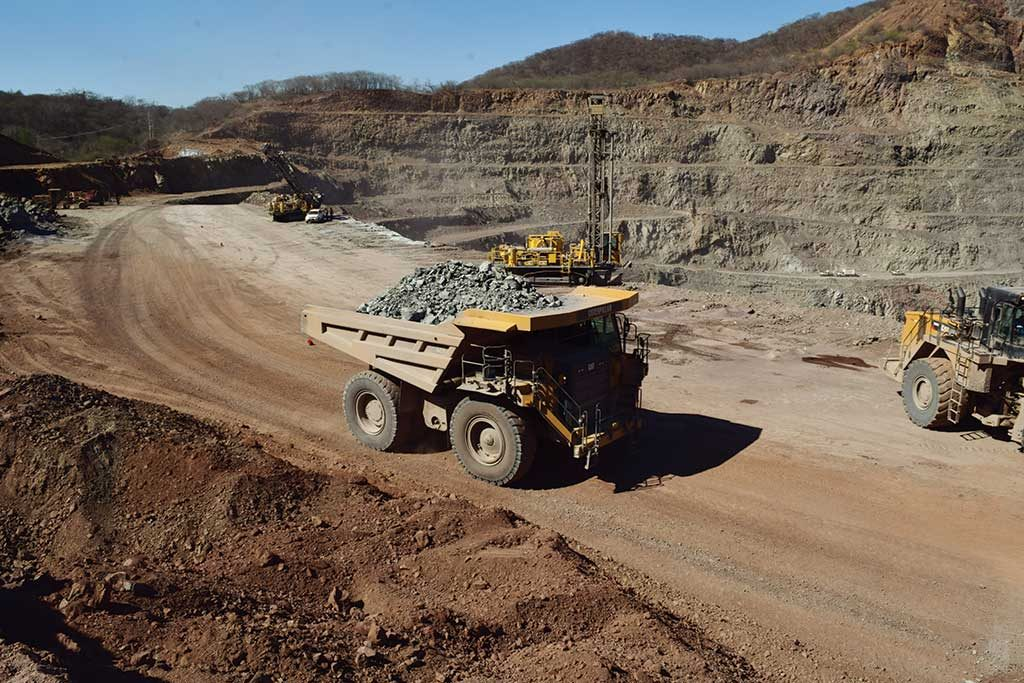 Operations at McEwen Mining's El Gallo gold-silver mine in Sinaloa, Mexico. Credit: McEwen Mining.