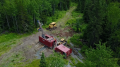 Drilling in 2017 at Great Bear Resources' Dixie Lake gold project in Ontario's Red Lake district. Credit: Great Bear Resources.