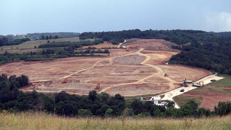 A decline construction at Nevsun Resources' Timok copper-gold project in Serbia. Credit: Nevsun Resources.