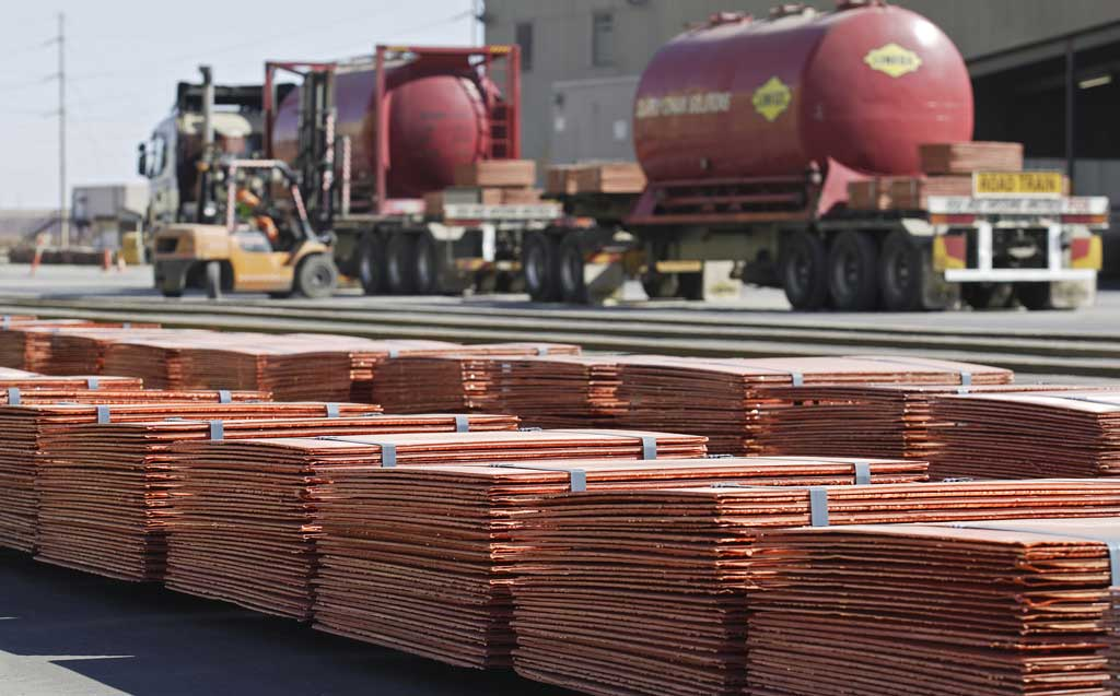 Editorial: Gold, copper declines start to bite – The