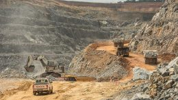 Operations at Randgold Resources' Tongon gold mine in Côte d'Ivoire. Credit: Randgold Resources.