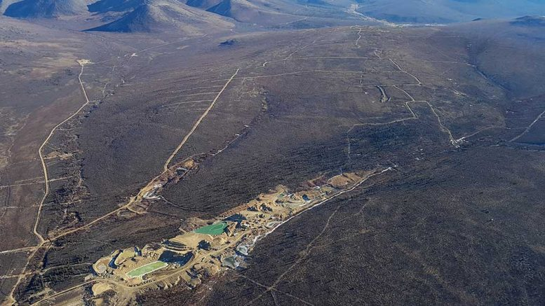 Looking southeast over placer operations on Rockhaven Resources' Klaza gold property in the Yukon. Credit: Rockhaven Resources.