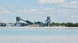 The mill at McEwen's Black Fox gold complex in northern Ontario. Credit: McEwen Mining.