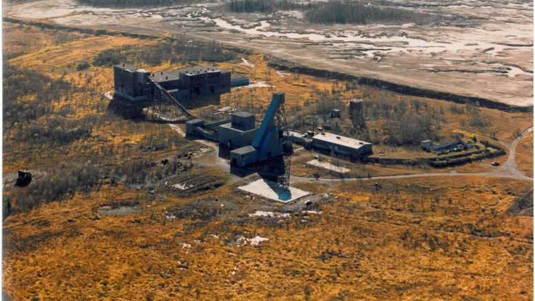 Monarques Gold's past producing Wasamac gold project in Quebec, as seen in 1984. Credit: Monarques Gold