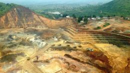 The Kibali open pit gold mine in the Democratic Republic of Congo. Credit: Randgold Resources .