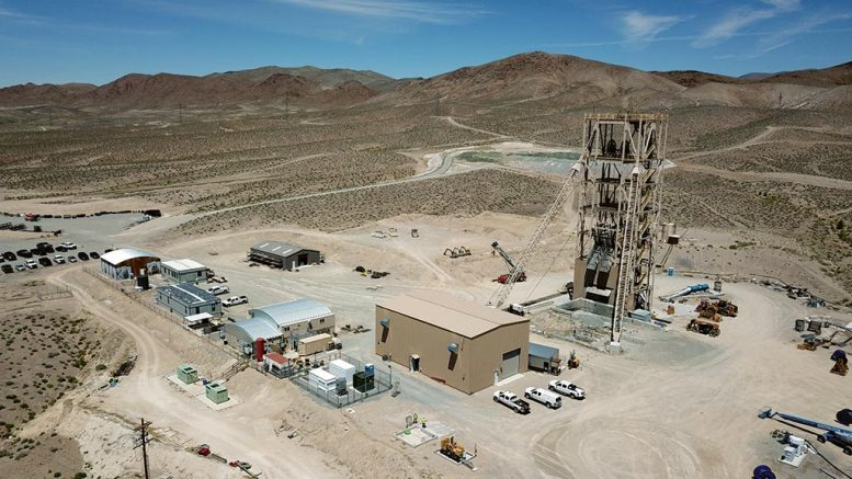 The Pumpkin Hollow copper project, under construction in Nevada. Credit: Nevada Copper.