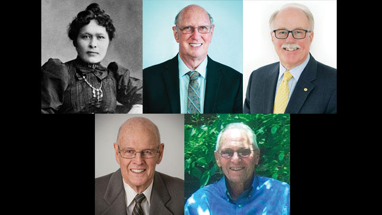 In 2019, the Canadian Mining Hall of Fame will welcome five new inductees: Kate Carmack, James M. Franklin, James W. Gill, A. M. (Sandy) Laird and Brian K. G. Meikle.