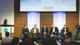 From left: Alisha Hiyate, Canadian Mining Journal editor-in-chief; Mikko Koivunen, Sandvik Mining and Rock Technology's business line manager for automation; Walter Siggelkow, Hard-Line's president and founder; Jason Cox, Roscoe Postle Associates' executive vice-president of mine engineering; Douglas Morrison, Centre for Excellence in Mining Innovation's president and CEO; and Daniel Lucifora, Goldcorp's manager of mine automation. Photo by George Matthew Photography.