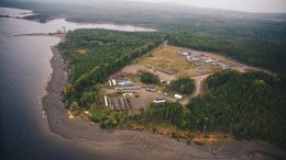 The camp at Marathon Gold's Valentine Lake gold project in Newfoundland. Credit: Marathon Gold.