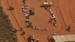 Rio Tinto's camp in the Paterson province of Western Australia's eastern Pilbara region. Credit: The Australian.