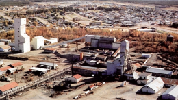 The Opemiska copper mine in the 1970s. Credit: Power Ore.