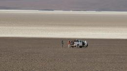 Workers at International Lithium's Mariana project in Argentina. Credit: International Lithium.