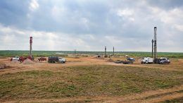The production area at Uranium Energy's Palangana ISR uranium project in south Texas. Credit: Uranium Energy.