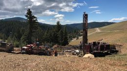 A drill site at Integra Resources' DeLamar gold-silver property in southwestern Idaho. Credit: Integra Resources.