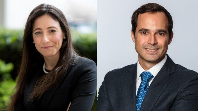 Andrée St-Germain, chief financial officer of Integra Resources and Jose Vizquerra, executive vice-president of strategic development and a director of Osisko Mining.