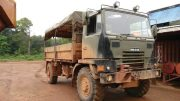 A truck at Sandspring Resources' Toroparu gold project on Guyana. Credit: Sandspring Resources.