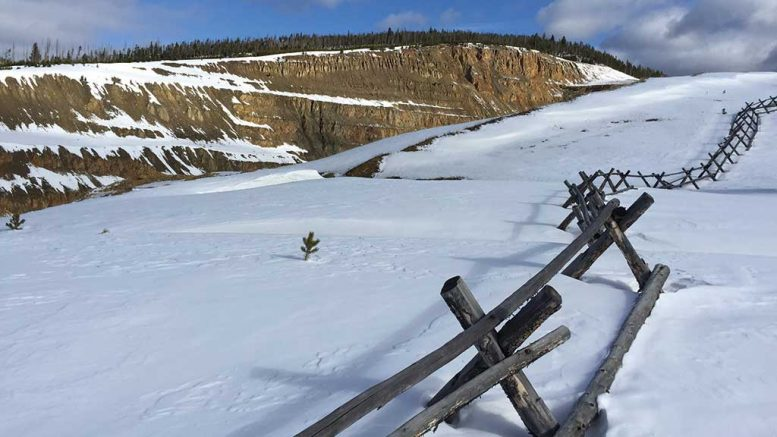 The South Pit ridge at Revival Gold's past-producing Beartrack gold property in Idaho. Credit: Revival Gold.