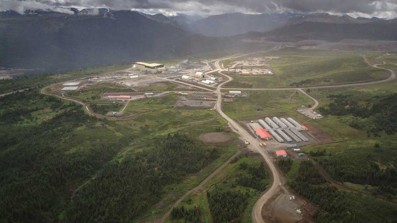 The Red Chris copper-gold mine, 80 km south of Dease Lake in northwest British Columbia's Golden Triangle region. Credit: Imperial Metals.
