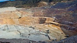 Pit operations at Barrick Gold's Cortez gold mine in Nevada. Credit: Barrick Gold.
