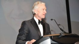 Goldcorp chair Ian Telfer at the 2015 Canadian Mining Hall of Fame induction ceremony in Toronto. Credit: Canadian Mining Hall of Fame.