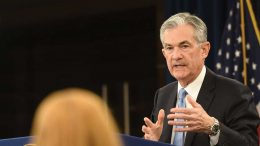 U.S. Federal Reserve Chair Jerome Powell answering a reporter's question in March. Credit: U.S. Federal Reserve.