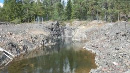 Boreal's Gumsberg zinc-silver-lead project near Stockholm, Sweden. Credit: Boreal.