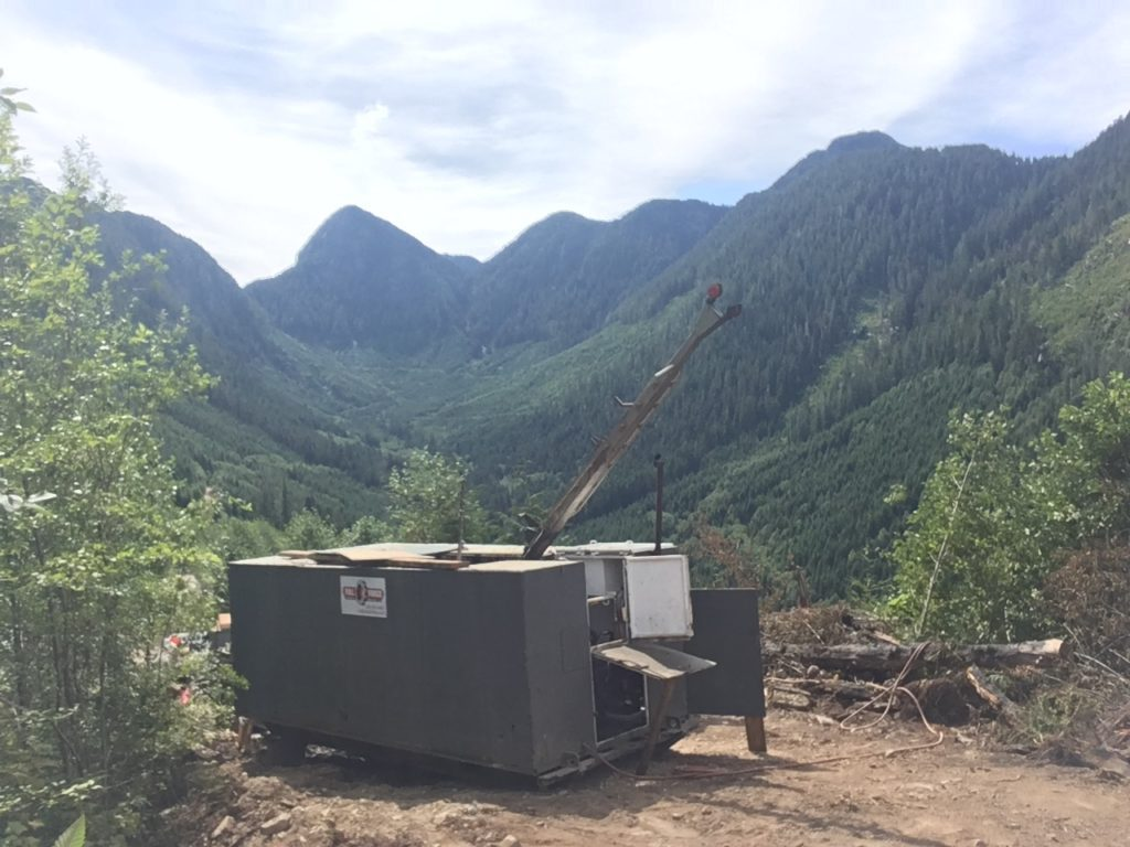 The newly consolidated Privateer gold property in British Columbia. Credit: Troubadour Resources.