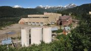 The historic mill at Ascot Resources' Premier gold project in British Columbia. Credit: Ascot Resources.