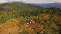 A drill at Skeena Resources' past-producing Eskay Creek gold project in British Columbia. Credit: Skeena Resources.
