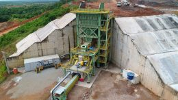 The crusher at Equinox Gold's Aurizona gold mine in Brazil. Credit: Equinox Gold.