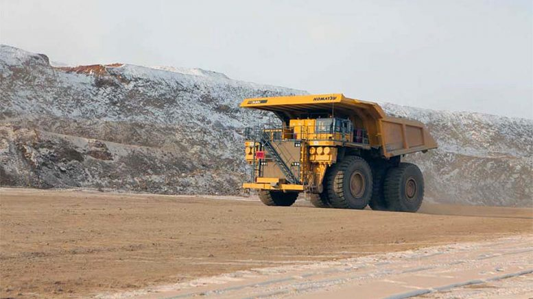 Turquoise Hill shares fall on cost overruns, delays at Oyu Tolgoi