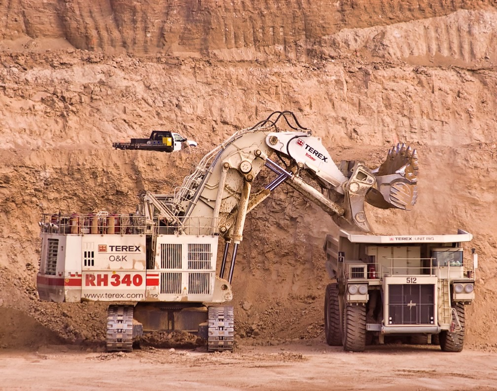 Pit operations at Equinox Gold's Mesquite gold mine in California. Credit: Equinox Gold.