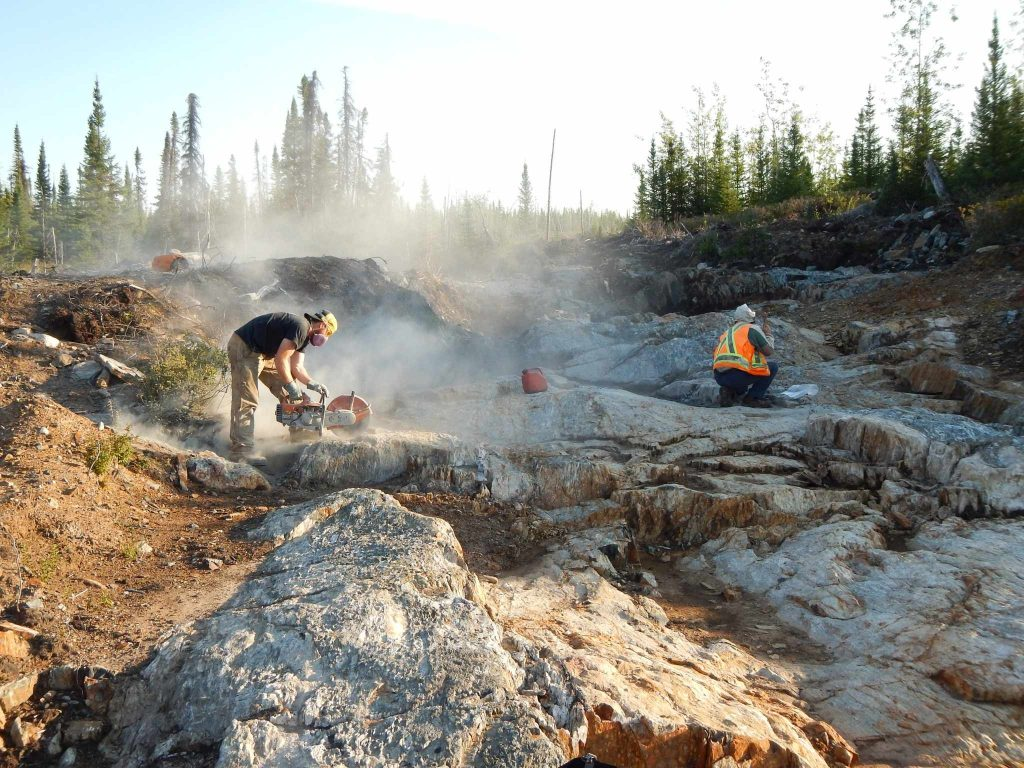 Midland Exploration and Osisko Mining's Eleonore gold project in Quebec's James Bay region. Credit: Midland Exploration.